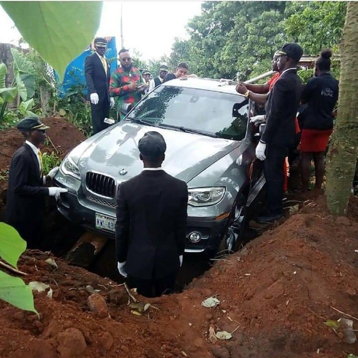 BMW-coffin