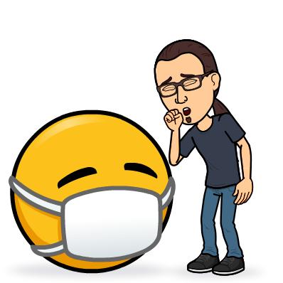 cough bitmoji