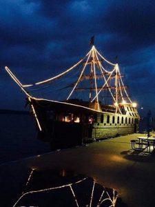 pirate ship airbnb
