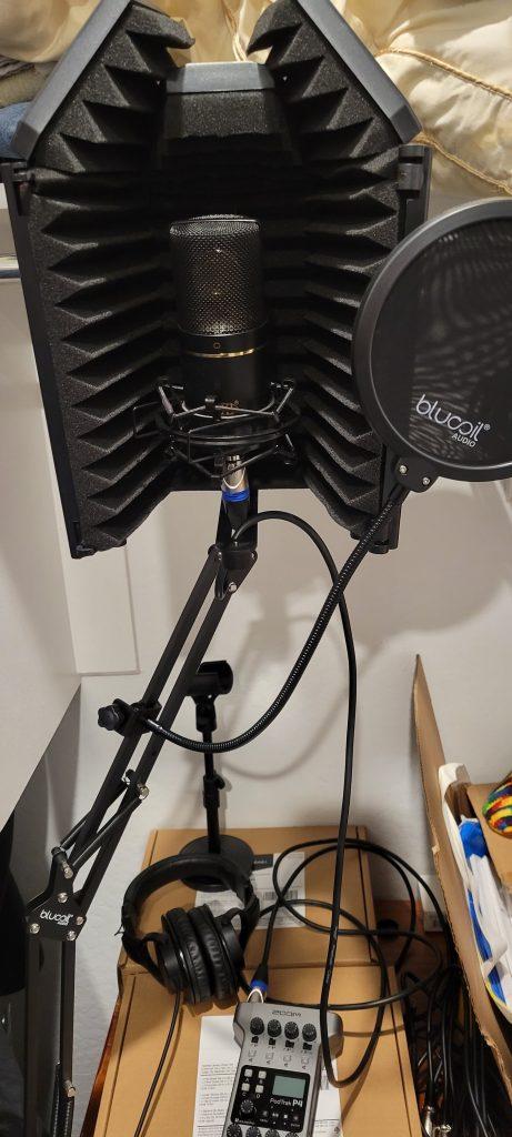 closet VO setup